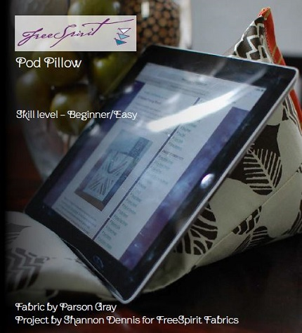 Tutorial: Pod Pillow gadget easel in two sizes