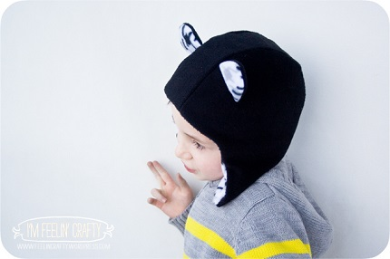 "Tutorial: ""Eared"" earflap hat for little kids"