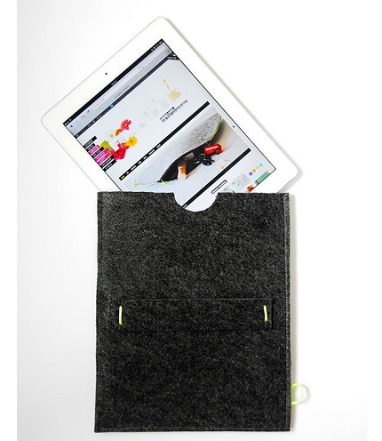 Tutorial: 10-minute felt iPad sleeve