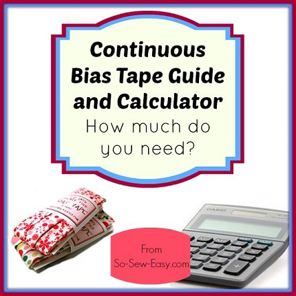 Tutorial: Continous bias binding, plus a calculator
