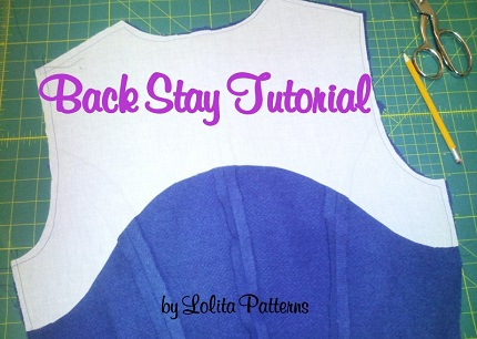 Tutorial: How to make a back stay for a coat