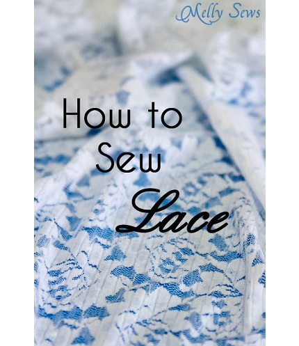 Tutorial: Sew a lace garment without seam allowances showing through