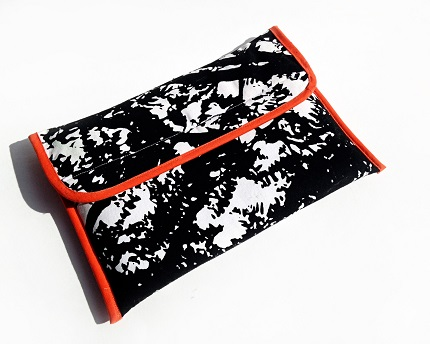 Marimekko iPad case with a dense foam padding