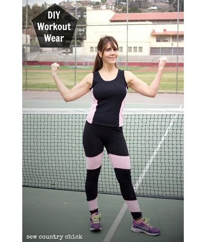 Tutorial: Sew your own workout wear