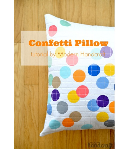 Tutorial: Confetti Pillow