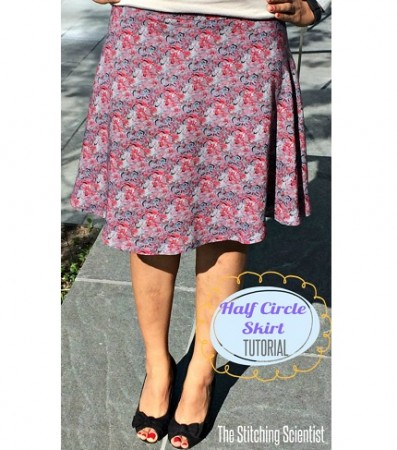 Tutorial: Half circle skirt