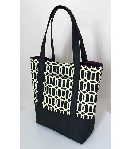 Tutorial: Classic lined canvas tote