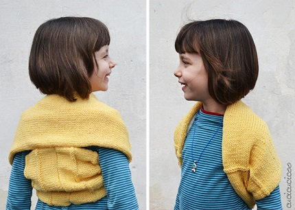 Tutorial: Refashioned scarf shrug