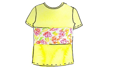 Inspiration: 14 variations you can make on a basic t-shirt pattern