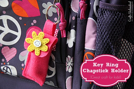 Tutorial: Lip balm holder key ring