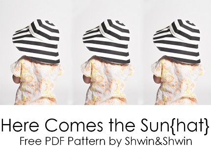 Free pattern: Here Comes the Sun(hat)