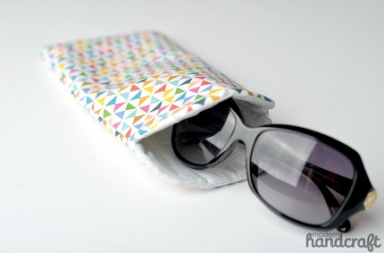 Tutorial: Curved top sunglass case