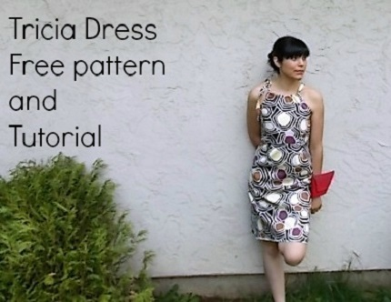 Free pattern: Tricia easy summer dress