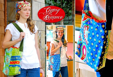 Tutorial: Gypsy Romance Soft Shoulder Bag