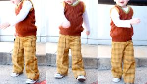 kids pants pattern