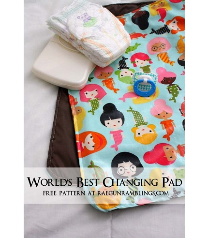 Tutorial: 30-minute baby changing pad