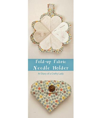Tutorial: Fold up needle holder