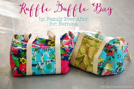 Tutorial: Ruffle Duffel Bag