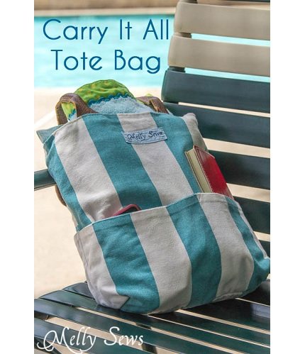 Tutorial: Carry It All Tote Bag