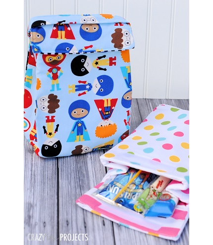 Tutorial: Insulated lunch box