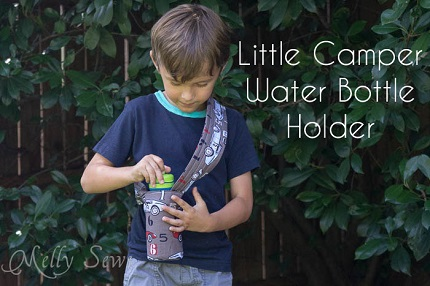 Tutorial: Little Camper Water Bottle Holder