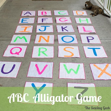 Tutorial: ABC Alligator alphabet jumping game