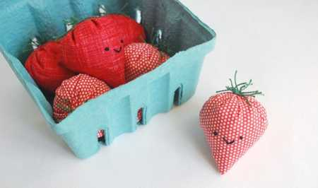 Tutorial: Sweet Strawberry Basket Beanbag Game