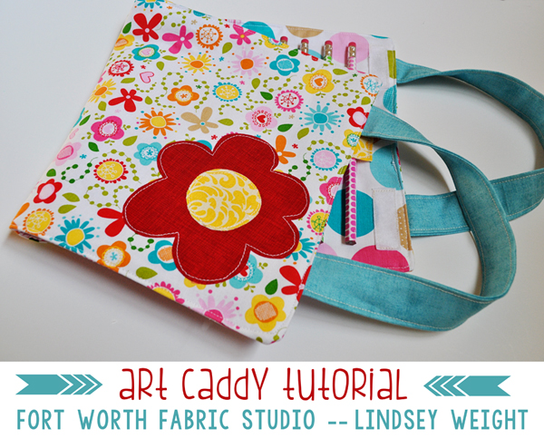 Tutorial: Kids art caddy