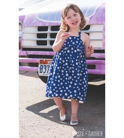 Free pattern: Cupcake Dress for little girls