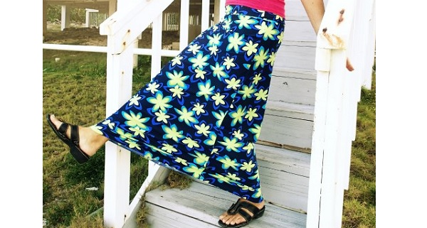 Tutorial: Perfect Maxi Skirt
