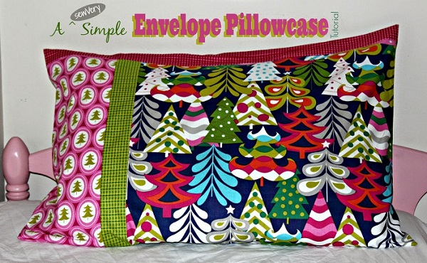 Tutorial: sewVery Simple Envelope Pillowcases