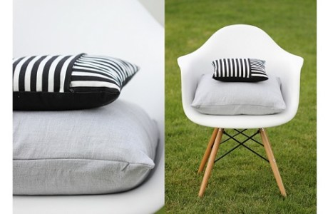 zippered pillows 2 ways
