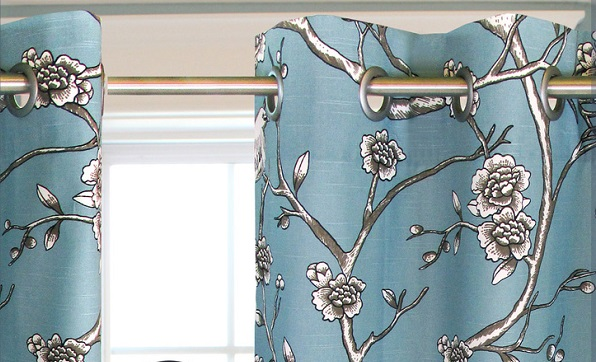 Tutorial: Grommeted curtain panel