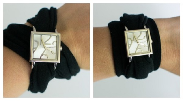 Tutorial: Stretch knit wrap watchband