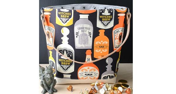 Tutorial: Trick or Treat tote bag