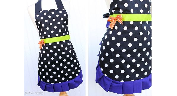 Tutorial: Halloween witch apron