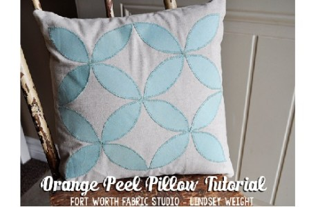 orange peel pillow 2