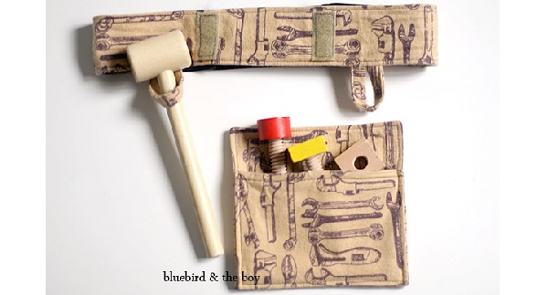 Tutorial: Child-sized play tool belt