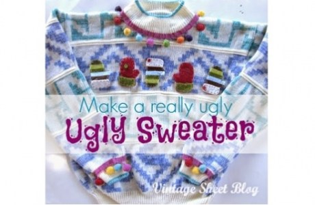 make a really ugly ugly sweater