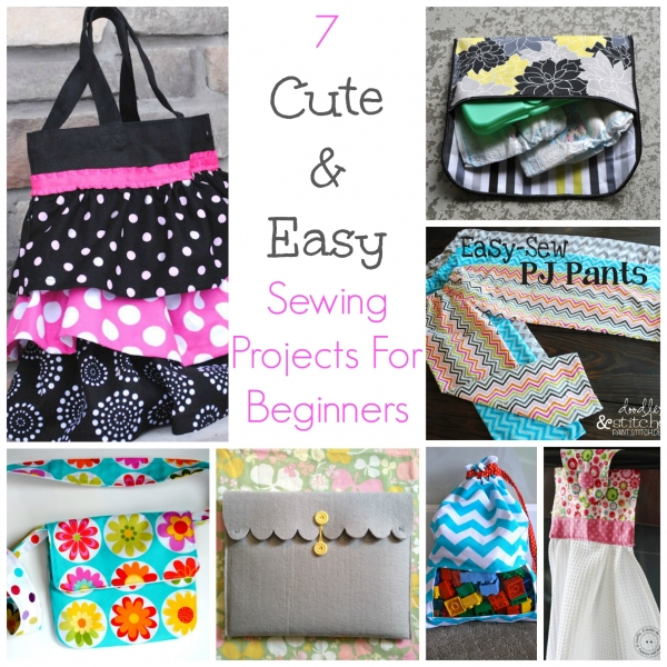 50+ Quick and Easy Sewing Projects for Beginners