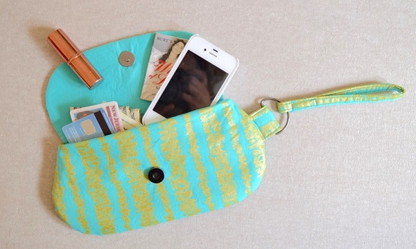 Free pattern: Date Night Clutch and Wristlet