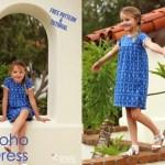 Free pattern: Girls Everyday Boho Dress