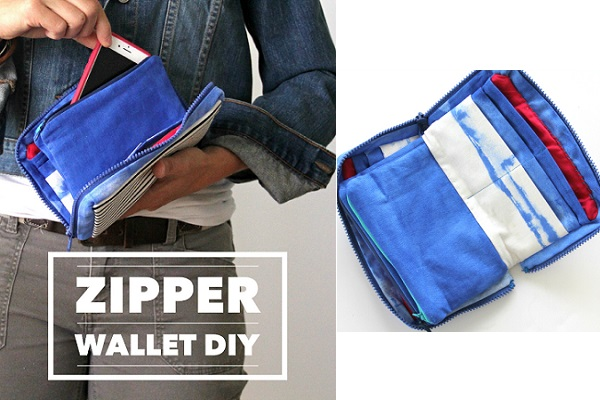 Tutorial: Zip up wallet with lots of pockets