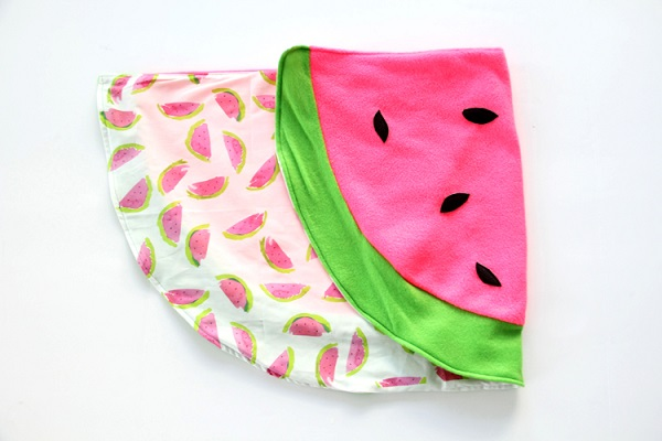 Tutorial: Watermelon baby blanket