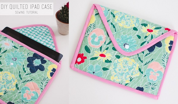 Tutorial: Quilted iPad sleeve
