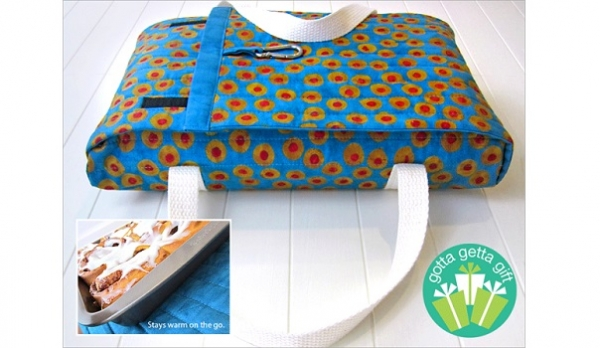 Tutorial: Wrap-And-Go Quilted Casserole Carrier