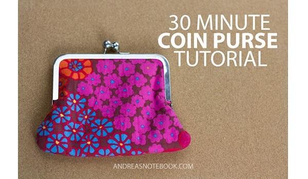 Tutorial: 30 Minute Coin Purse