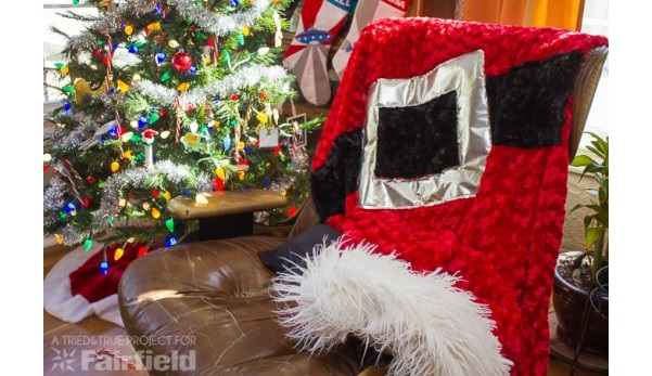 Tutorial: Santa Claus Christmas blanket