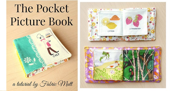 Tutorial: Fabric picture book for a young child