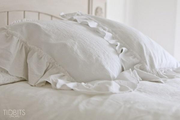 Tutorial: Ruffle pillow sham